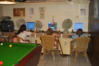 LARGE FAMILY BAR AND INTERNET CAFE